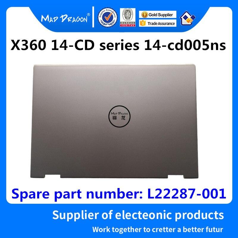 Nouveau portable d'origine LCD couverture supérieure LCD couverture arrière pour HP pavillon X360 14-CD série 14-cd005ns L22287-001 4600E80L000
