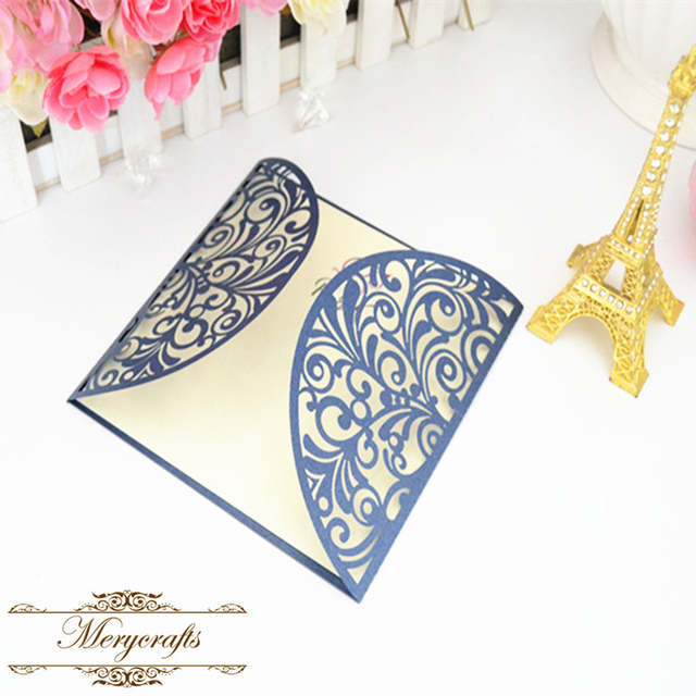 Us 24 0 2017 Hot Sale Wedding Card New Design Invitation Card Arabic Japanese Metal Pink Wedding Invitation Card In Cards Invitations From
