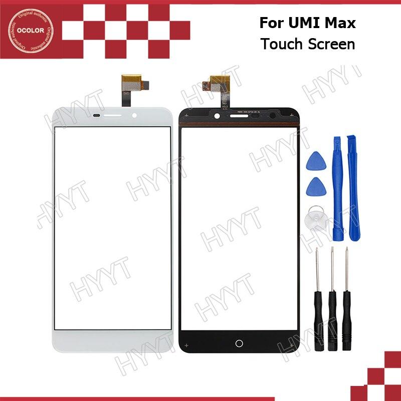 imágenes para Para UMI Max Reemplazo Del Sensor de Panel Táctil Digitalizador de Pantalla Táctil Original Para UMI Max Accesorios Del Móvil Con Herramientas