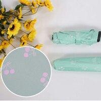 Fashion Flower Color Changing Magic Umbrella Folding Windproof Umbrella Anti UV Sun Rain Princess Umbrella Parasol