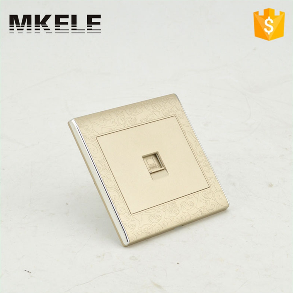 Best Price MK-WS05023 Ultrathin Universal Light Switches And Sockets Electrical Wall Computer PC Outlet Switch best price 5pin cable for outdoor printer