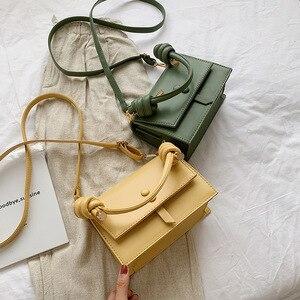 Image 5 - Fransa kadın 2019 moda omuzdan askili çanta çanta kadın küçük askılı çanta Flap marka tasarımcısı Crossbody çanta bayan çanta kesesi