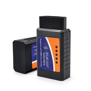 Image 5 - OBD2 Auto Werkzeug Schwarz ELM327 V2.1 Bluetooth Funktioniert Android/Windows Unterstützt OBD2 Protokolle KÖNNEN BUS Scanner ULME 327 auto Code Reader