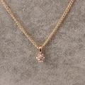 2016 simple Moda Cristal Colgante Bola Rhinestone Largo Collares Mujer Collares y Colgante de Alta Textura Collar de Oro