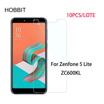 10Pcs/Lot For Asus Zenfone 5 Lite ZC600KL 0.3mm 2.5D 9H Premium Tempered Glass Screen Protector Toughened protective LCD Film