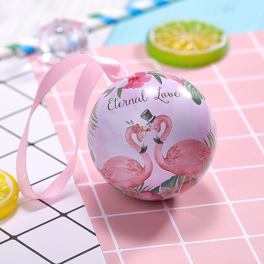 20 pcs/lot nouvelle boîte à bonbons boule boîte cadeau décoration de mariage pour mariage boîte de fer créative mode boîte cadeau & fournitures d'emballage