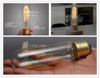 LightInBox 200pcs /lot vintage loft style edison bulb Model T10. 220v 40w for the express shipping .