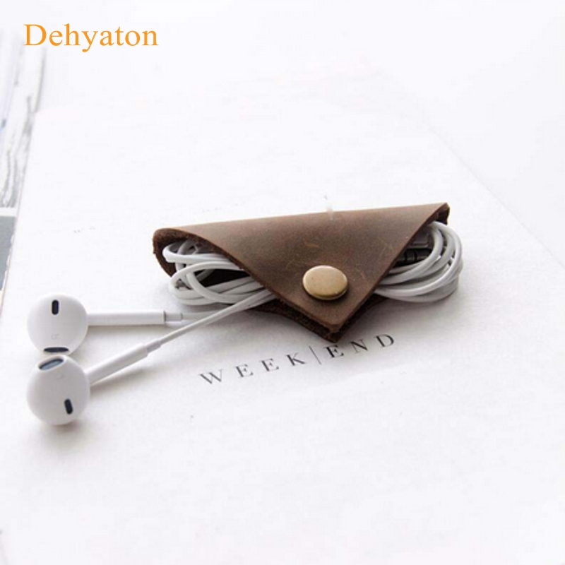 Wire Cable Bobbin Winder Clip Earphone Plug Cable Winder Cord Line 10pcs//pack