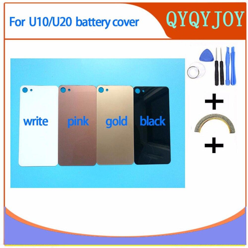 Calidad AAA para Meizu carcasa trasera para batería para Meizu U10 funda de vidrio templado para teléfono para Meizu U20 piezas de repuesto