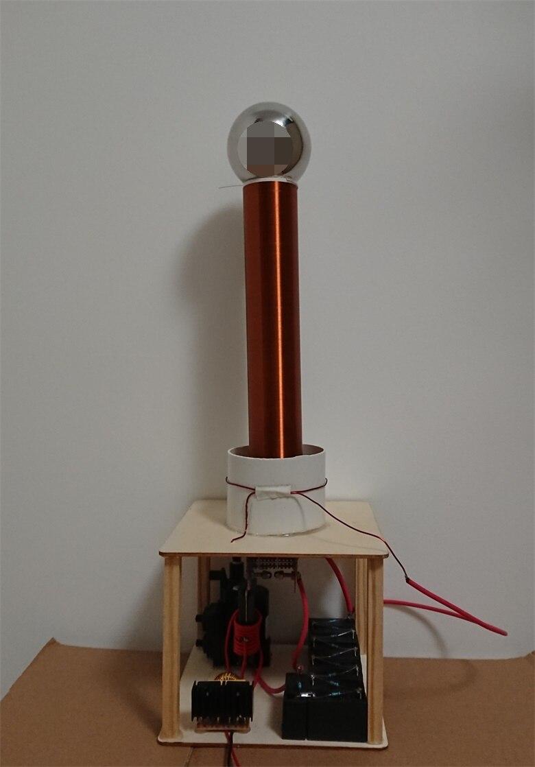 Étincelle écart Tesla bobine costume Arc Test bricolage sans fil électricité Transmission jouer jouet ZVS puissance 35 W-60 W DC 12 V-36 V - 2