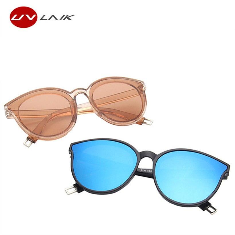 23e950121c7 UVLAIK Fashion Brand Designer Cat Eye Women Sunglasses Oversized Sun  Glasses Cat eye Vintage Female Eyewear Goggles