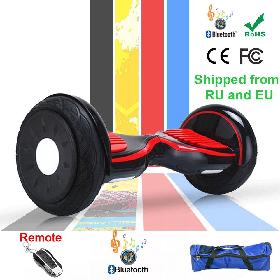 Hoverboard 10 pouces Pouce Overboard Trottinette électrique roue Trottinette Electrique Adulte Gotway sur planche à roulettes Gyropode