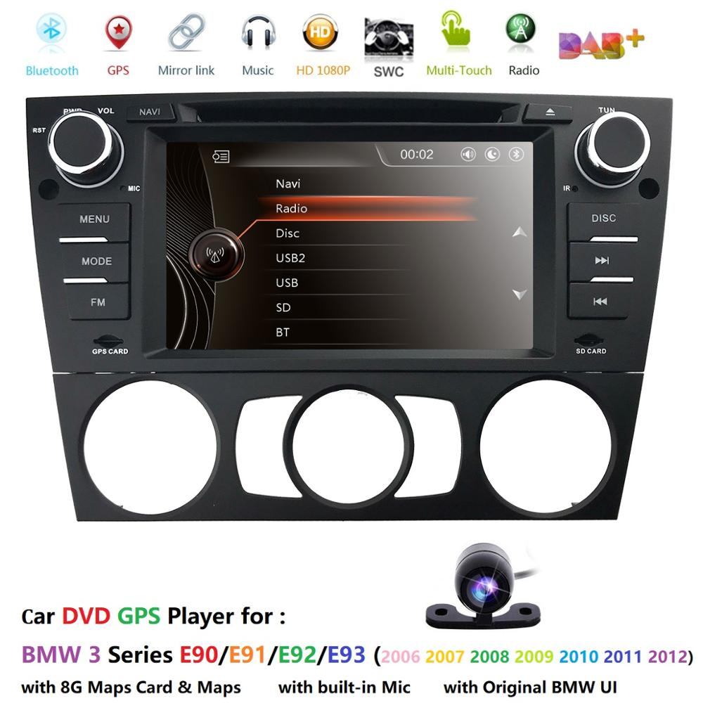 AutoRadio <font><b>2din</b></font> GPS Head unit For BMW 3 Series E90/E91/E92/E93 Car DVD Player GPS Navigation In-dash Stereo Car Multimedia Player image