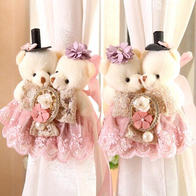 Aliexpress.com : Buy 1 Pair Baby Kid cute Cartoon Bear Holder Nursery  Buckle Clamp Hook Fastener Accessories Tie Rope for Bedroom Home Decor  CA018&20 ...