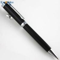 New Arrival Stainless Steel Rod Rotating Metal Ballpoint Pen Commercial Ballpoint Pen Gift Stationery Logo Custom