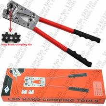 LX-50B ручные инструменты для неизолированных кабельных соединений 6-50мм2 обжимной инструмент электрические щипцы ручной обжимной инструмент