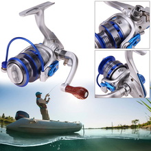 Mini Spinning Fishing Reels 10BB Wheel Gear Ratio 5.5:1 for Sea Fishing Bait Casting Carp Fishing Equipment Accessories
