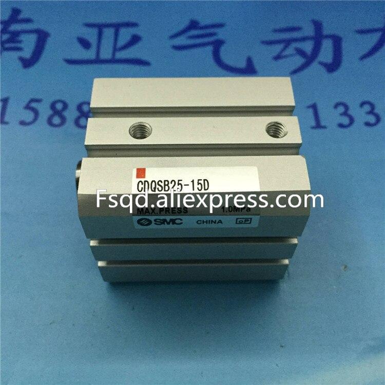 все цены на CDQSB25-15D SMC pneumatic cylinder Compact cylinder Pneumatic components онлайн