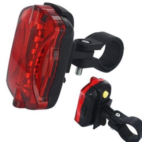 Fashion Rear Lights Bicycle Lights 7 LEDS Bike Front Head Light font b Safety b font