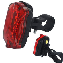 Fashion Rear Lights Bicycle Lights 7 LEDS Bike Front Head Light + Safety Rear Flashlight Torch Lamp headlight accessory SE 20