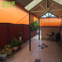 2 x 4 M/pcs Customized Rectangle Sun sail Combination 95% UV protection HDPE Shade Net with free ropes for Courtyard