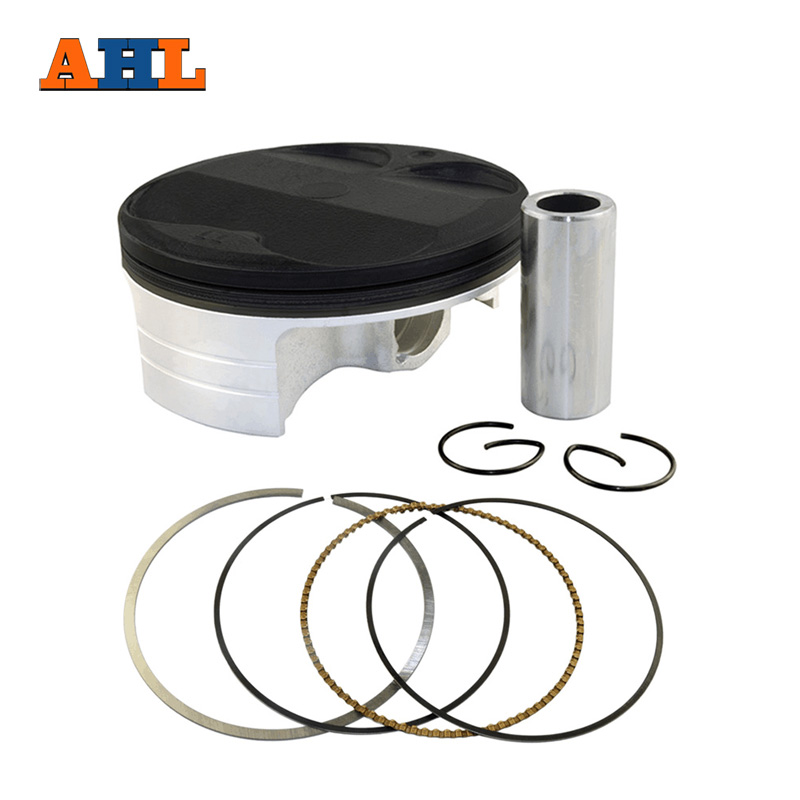 AHL Bore size 77mm STD Piston Ring Clip Kit For Kawasaki KXF250 KX250F 2004 2014 For