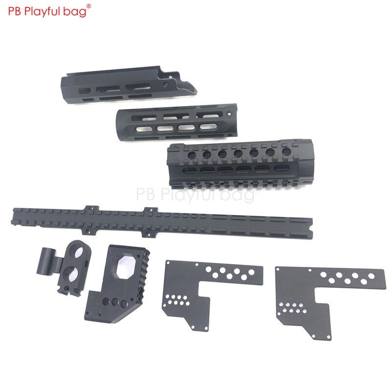 MP5/MP5K Golgi Upgrade Material FishBone New Outdoor CS Tactical Essential Parts Water Bullet Gun Accessories Small Ash HQ OB11