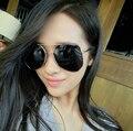 Серый цвет плёнка солнечные очки муравей женщина за рулем очки ретро солнечные очки многосторонних большой рама солнечные очки