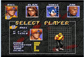Street Of Fight III Sonic Hack 16 bit MD Game Card For Sega Mega Drive For Genesis