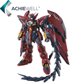 Marca Dragão Momoko MG 1/100 Gundam Modelo Epyon Action Figure Robot Combate ABS Brinquedos de Coleta Presentes Presents