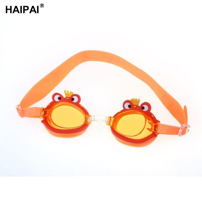Haipai boys girls anti-fog professional swimming goggles Waterproof Anti-UV protective glasses for the pool childrens glasses