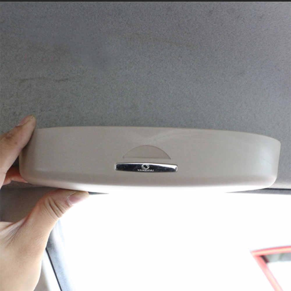 Carmilla ABS автомобильный футляр для солнечных очков футляр для очков для Honda CRV City Civic вариабельности сердечного ритма HR-V FIT коврик для автомобиля Odyssey автомобиля Запчасти