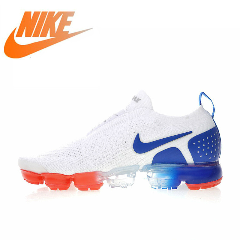 Original Authentic 2019Nike Air VaporMax Moc 2 Men's Running Shoes Outdoor Sports Shoes Light New Products Listed AH7006-400