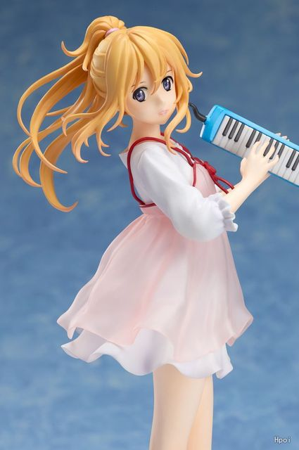 20cm your lie in april kaori miyazono Action Figure Anime Doll PVC New Collection figures toys brinquedos Collection
