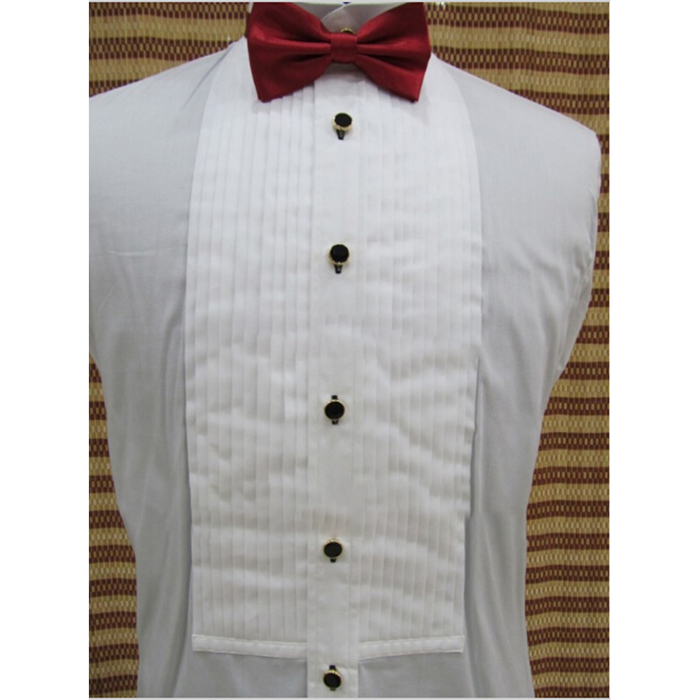 Custom Made 100 Cotton White Tuxedo Shirttailored Dress Shirts