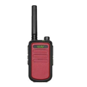 Image 3 - 100% Original  WLN KD C10 uhf 400 470MHz 16Channel mini two way radio FMR PMR walkie talkie KDC10