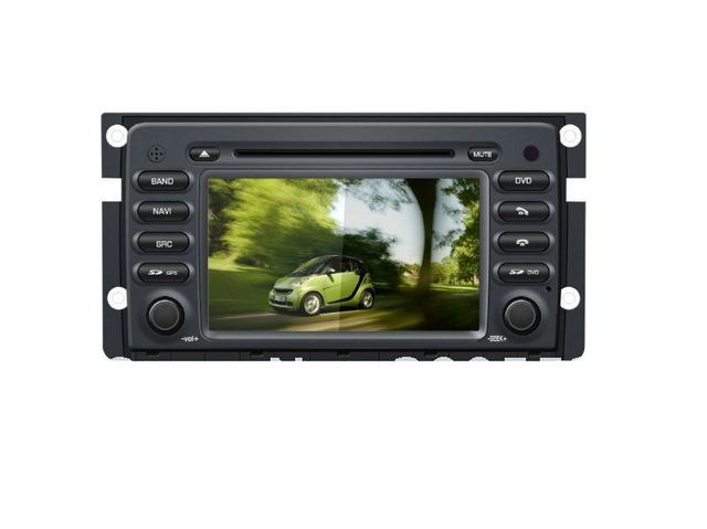 7.0 digital touch screen car DVD player special For Mercedes Benz Smart with GPS TV Bluetooth Radio IPOD