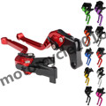 FXCNC CNC Adjustable Motorcycle Racing Long 10 Colors A Pair Brake Clutch Levers For Honda CBR600RR 2003-2006 2004 2005 2006