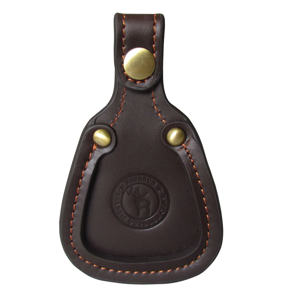 Tourbon Shooting Leather Toe Pad Skyddsskydd Clay Hunting Barrel Rest - Jakt - Foto 2