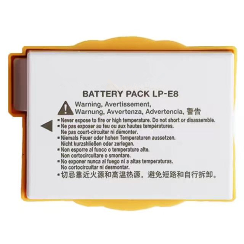 LP-E8 LPE8 Digital Camera <font><b>Battery</b></font> LPE8 lithium <font><b>batteries</b></font> pack LP-E8 For <font><b>CANON</b></font> 550D 600D 650D <font><b>700D</b></font> X4 X5 X6i X7i T2i T3i T4i T5i image