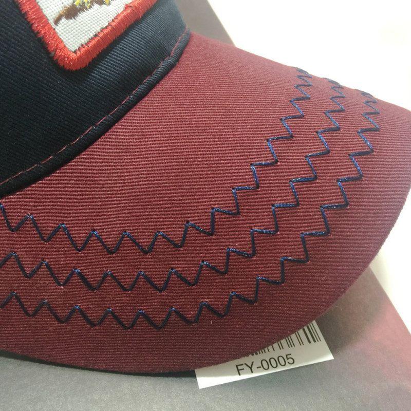 Aliexpress.com  Comprar Unisex de moda Animal parche bordado de malla de algodón  gorra de béisbol sombrero de camionero Snapback nueva para hombres y ... 15f53b1dcd4