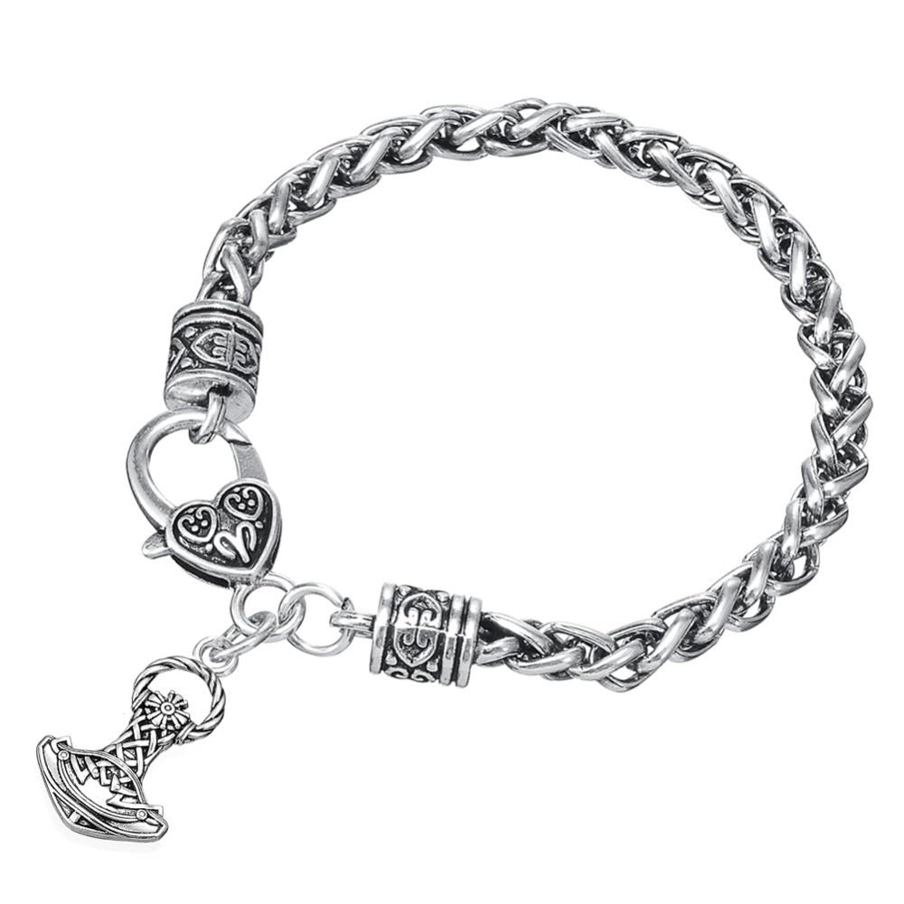 Dawapara Thor Mjolnir Martillo Vikingo Nórdico Amuleto Supernatural - Bisutería - foto 3