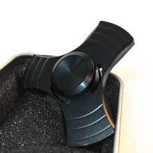 2017 Black Fashion UFO spinner Aluminum Alloy EDC fidget spinners Anti Stress Adults Kids font b