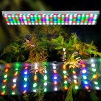 Chihiros RGB светодио дный аквариумная Светодиодная лампа светодио дный EU Plug Led Grow Light для водных растений Fish Tank 90 150 см многоцветная растительная
