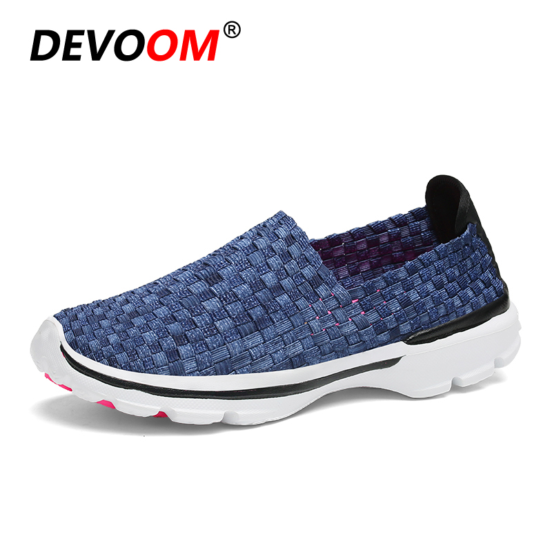 2018 Summer Fashion Womens Woven Shoes Woman Pink Bottom Slip-on Loafers Female's Casual Sneaker Flats Stretch Fabric Shoe Mujer hot 2017 new fashion womens weave shoes spring summer mixed color breathable casual shoes flats slip on loafers tenis feminino