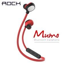 Rock Мумо bluetooth наушники Виды Летние Тренировки Анти Пот Bluetooth V4.0 Гарнитура Наушники для iPhone 6 & 6 Plus и Samsung