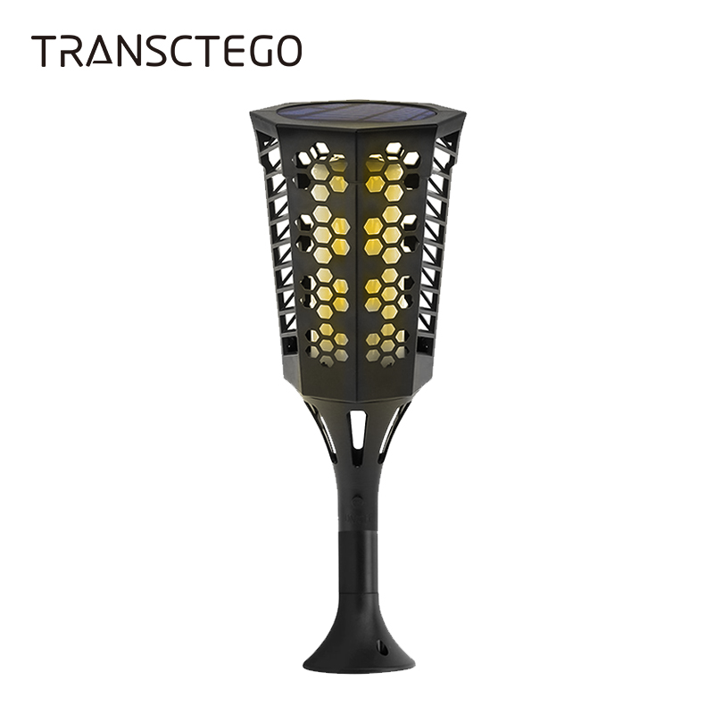 Solar Lights LED Torch Flame Lighting Lamp Outdoor Waterproof Lantern Light Sensor Wall Lamp Garden Lawn Patio Yard Solar Lights vintage led solar lantern lights outdoor hanging light candle lantern solar powered garden lamp for garden lawn patio