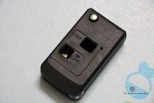 YNAVI Car Key Case With 2 Buttons Fob Replacement Blank Cover Flip Folding Remote Key Shell For Toyota Proda Rezi