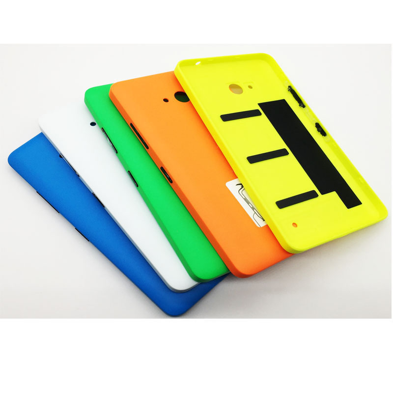 Colorful Matt Battery Door Back Cover For Nokia Lumia 640 Housing Case With Power Volume ...