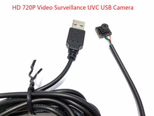 720 P HD видеонаблюдения UVC usb Камера мини usb Камера модуль печатная плата системы видеонаблюдения CMOS вебкамера для ПК Поддержка Windows pc Бесплатная доставка